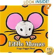 Little Mouse: Finger Puppet Book (Little Finger Puppet Board Books)