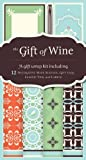 Chronicle Books Staff: The Gift of Wine: A Gift Wrap Kit Including 12 Decorative Wine Sleeves, Gift Tags, Elastic Ties, and Labels