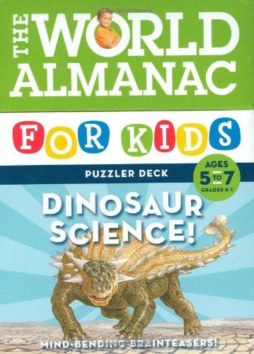 world-almanac-for-kids-puzzler-deck-dinosaur-science-5-7-ages-5-7-grades-1-2