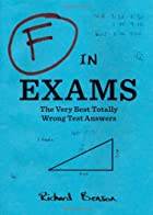 F in Exams: The Very Best Totally Wrong Test…