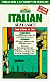 Wald, Heywood: Barron's Italian at a Glance: Phrase Book & Dictionary for Travelers