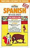 Wald, Heywood: Spanish at a Glance: Phrase Book & Dictionary for Travelers (Barron's Languages at a Glance Series) (Spanish Edition)