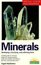 Minerals (Barron's Nature Guide) by Rupert…