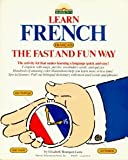 Elizabeth Leete: Learn French the Fast and Fun Way/With Pull-Out Bilingual Dictionary (Learn the fast & fun way) (English and French Edition)