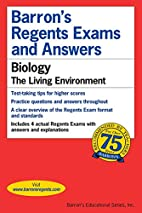 Barron's Regents Exams and Answers: Biology…
