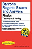 Gewirtz, Herman: Barron&#39;s Regents Exams and Answers: Physics