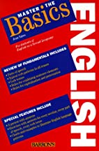 Master the Basics English: For Students of…