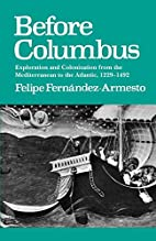 Before Columbus: Exploration and…