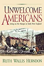 Unwelcome Americans: Living on the Margin in…
