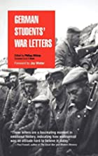 German Students' War Letters by Philipp…