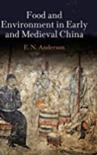 Food and Environment in Early and Medieval…