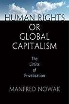 Human Rights or Global Capitalism: The…