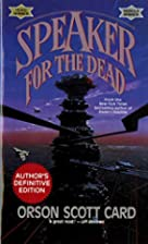 Speaker for the Dead (Ender, Book 2) by…