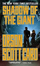 Shadow of the Giant (Ender, Book 8)…