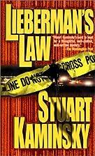 Lieberman's Law by Stuart M. Kaminsky