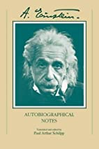 Autobiographical Notes by Albert Einstein