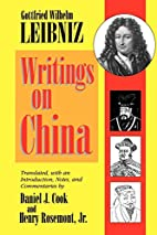 Writings on China by Gottfried Wilhelm…