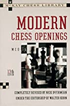Modern Chess Openings by Walter Korn