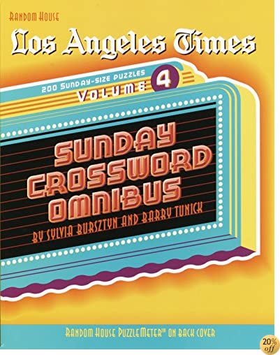 TLos Angeles Times Sunday Crossword Omnibus, Volume 4 (The Los Angeles Times)