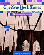 New York Times Sunday Crossword Puzzles,…