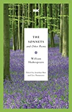 The Sonnets and Other Poems (Modern Library…