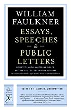 Essays, Speeches & Public Letters: Revised…