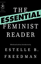 The Essential Feminist Reader (Modern…