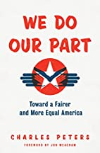 We Do Our Part: Toward a Fairer and More…