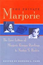 The private Marjorie : the love letters of…