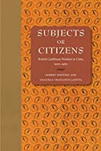 Subjects or Citizens: British Caribbean…