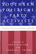 Southern Political Party Activists: Patterns…