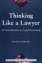 Thinking Like a Lawyer: An Introduction to…