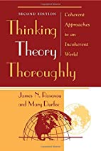 Thinking Theory Thoroughly: Coherent…