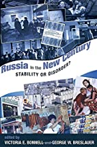 russia in the new century: stability or…