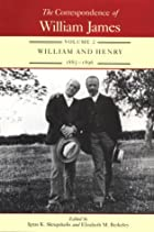 Correspondence of William James: William and…
