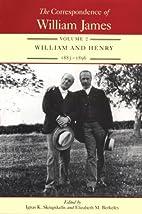 The Correspondence of William James: William…