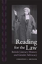 Reading for the Law: British Literary…
