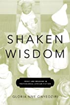 Shaken Wisdom: Irony and Meaning in…