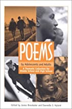 Poems by Adolescents and Adults: A Thematic…