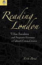 Reading London: Urban Speculation and…