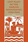 Hamalian, Leo: Lost Plays of the Harlem Renaissance 1920-1940