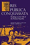 Groten, Frank J.: Res Publica Conquassata: Readings on the Fall of the Roman Republic