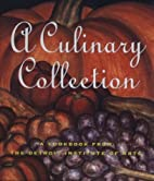 A Culinary Collection: A Cookbook from the…