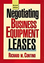 Negotiating Business Equipment Leases by…