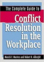 The complete guide to conflict resolution in…