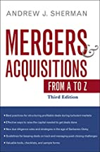 Mergers and Acquisitions from A to Z by…