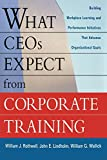 Rothwell, William J.: What CEOs Expect From Corporate Training: Building Workplace Learning and Performance Initiatives That Advance Organizational Goals