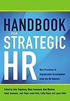 Handbook for Strategic HR: Best Practices in…
