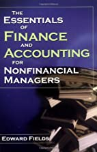 The Essentials of Finance and Accounting for…