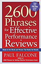 2600 Phrases for Effective Performance…